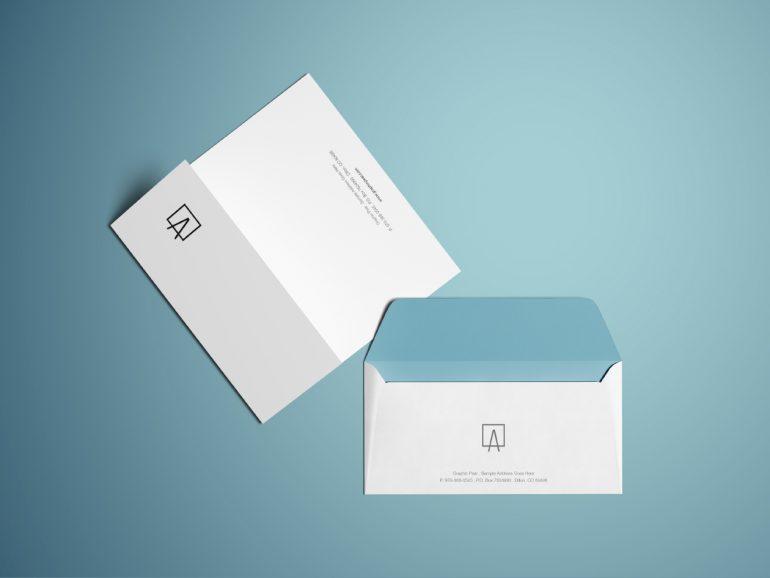 best envelope mockup